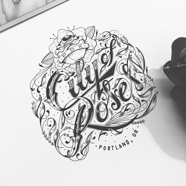 Wonderful Hand Lettering Artworks by Raul Alejandro 20+ Detailed Hand Lettering Artworks by Raul Alejandro