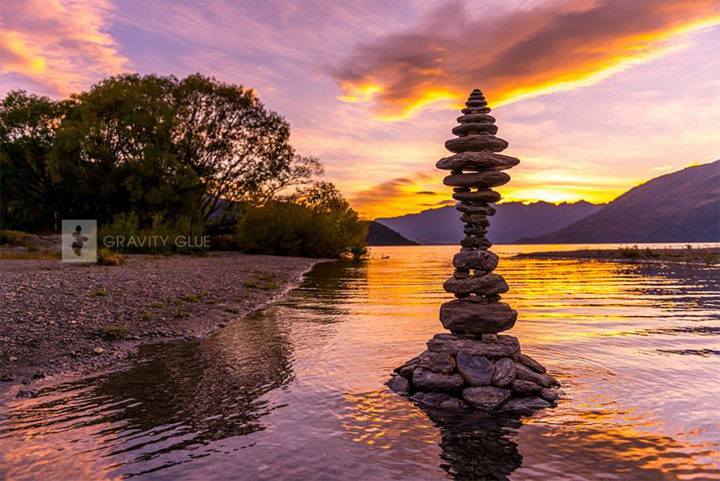 Wonderful Stone Stacking Art by Michael Grab 1024x684 Gravity Glue: Stone Stacking Art by Michael Grab