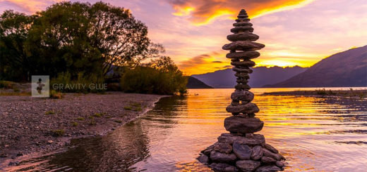 Gravity Glue: Stone Stacking Art by Michael Grab