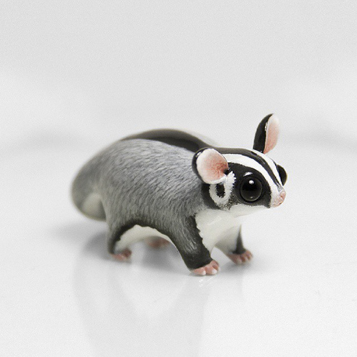 Adorably Polymer Clay Animals by Ramalama Creatures 99 Adorably Tiny Polymer Clay Animals That Fit on Your Fingertips