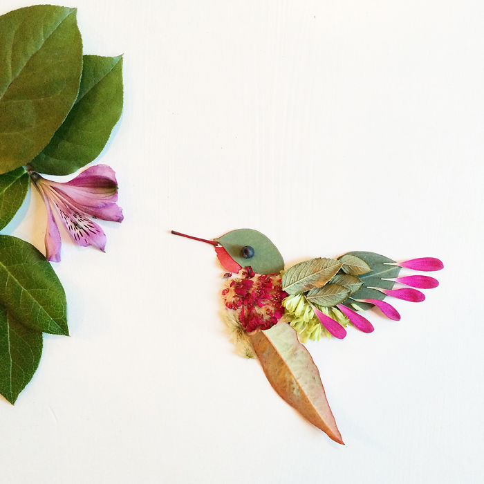 Turns Flowers Into Arts 99 This Artist Turns Flowers Into Beautiful Paintings