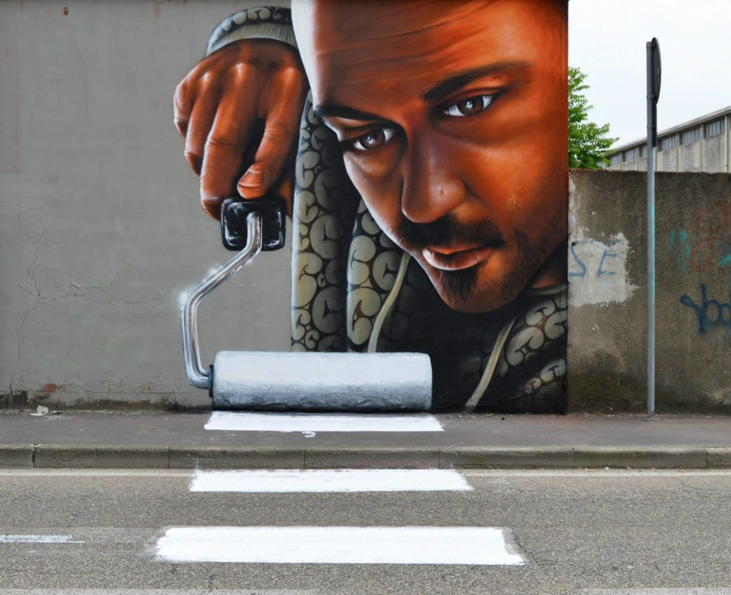 Brilliant And Interactive Street Art By Caiffa Cosimo 7 1024x834 Brilliant And Interactive Street Art By Caiffa Cosimo