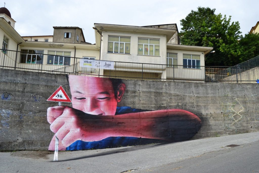 Creative Italian Street Art By Caiffa Cosimo 1024x683 Brilliant And Interactive Street Art By Caiffa Cosimo