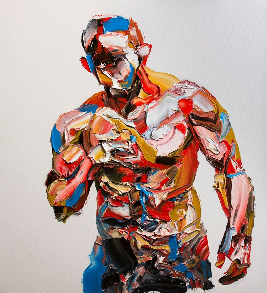 Creative Palette Knife Portraits and Figures Salman Khoshroo, Palette Knife Portraits and Figures