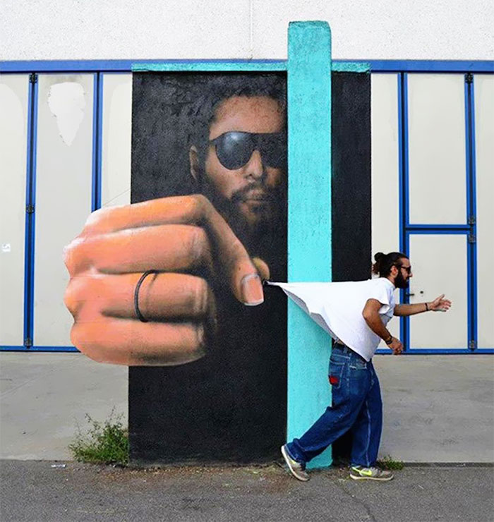 Interactive Street Art By Caiffa Cosimo 99 Brilliant And Interactive Street Art By Caiffa Cosimo