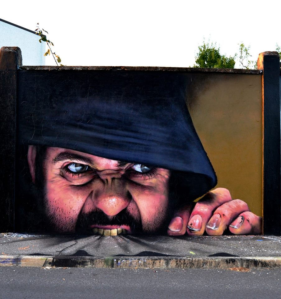 Interactive Street Art By Caiffa Cosimo Brilliant And Interactive Street Art By Caiffa Cosimo