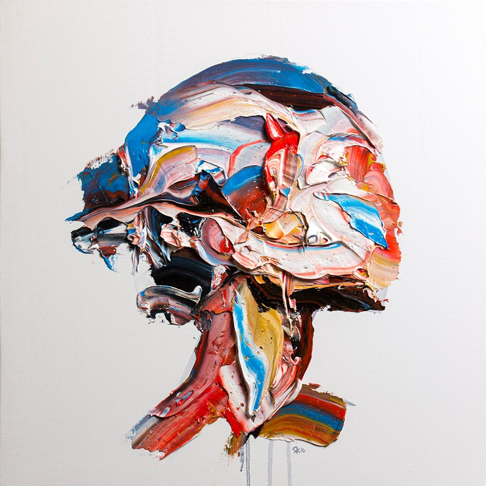 Palette Knife Portraits and Figures by Salman Khoshroo Salman Khoshroo, Palette Knife Portraits and Figures