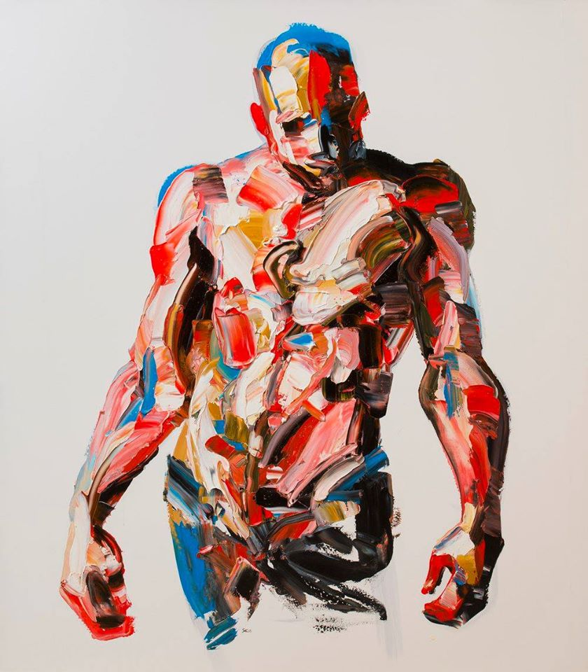 Palette Knife Portraits and Figures Salman Khoshroo, Palette Knife Portraits and Figures