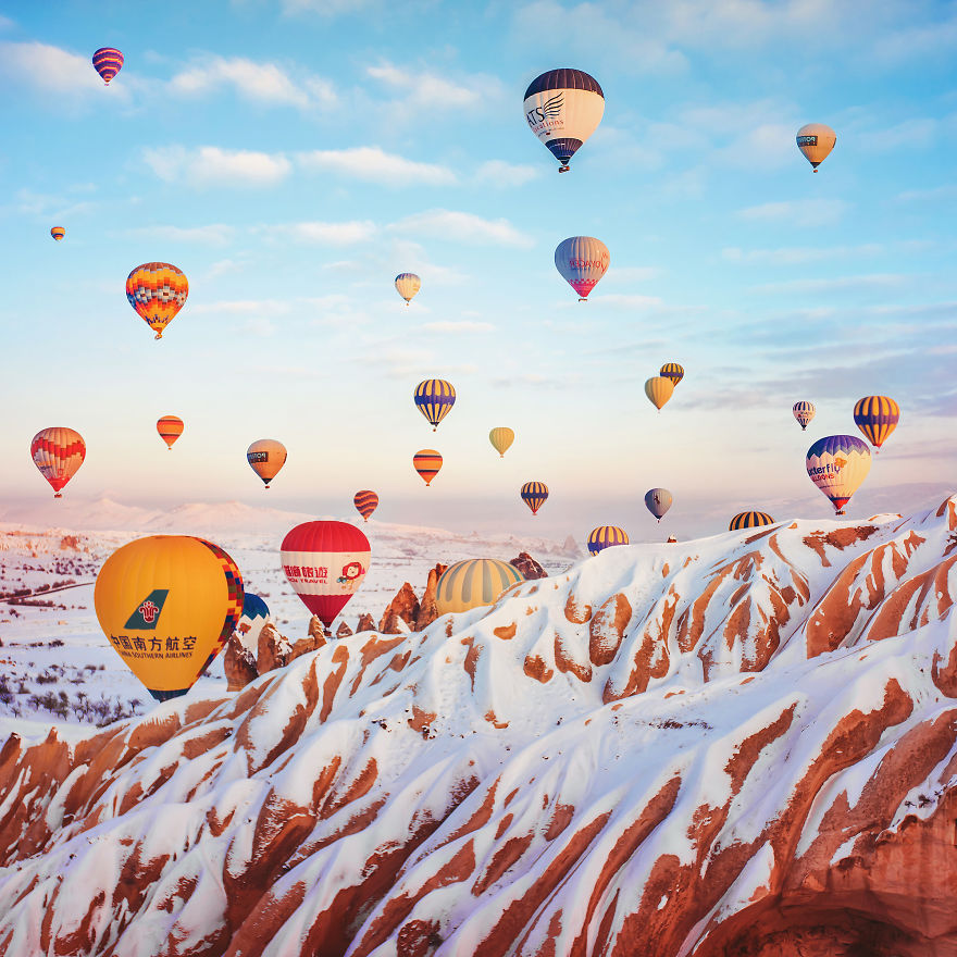 10 Incredible Photos Of Cappadocia Turkey 11 When Reality Looks Better Than Photoshop: 10+ Incredible Photos Of Cappadocia, Turkey