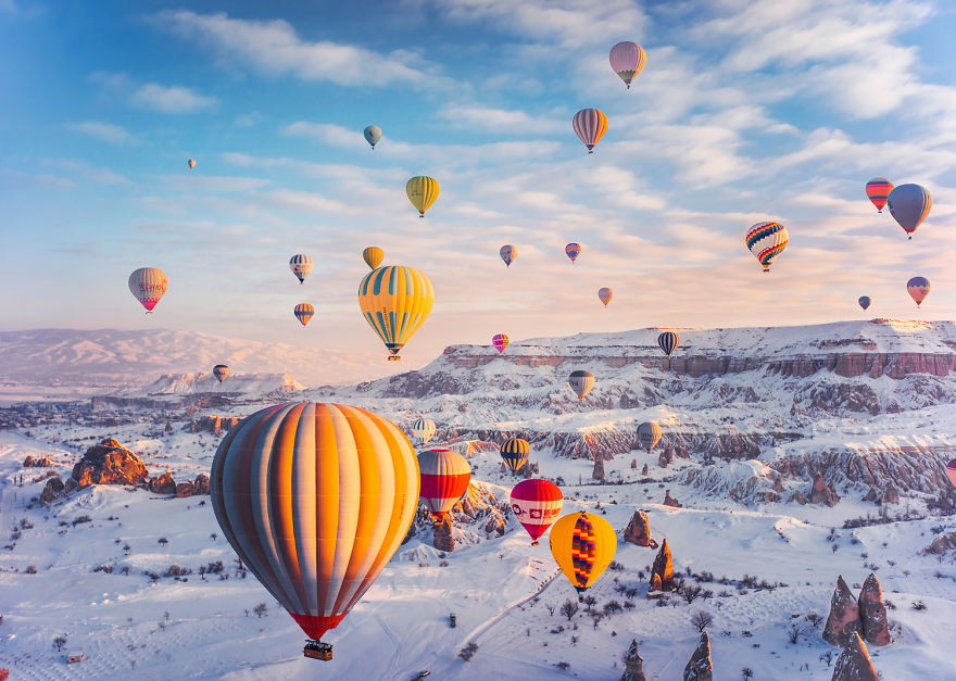10 Incredible Photos Of Cappadocia Turkey 2 When Reality Looks Better Than Photoshop: 10+ Incredible Photos Of Cappadocia, Turkey