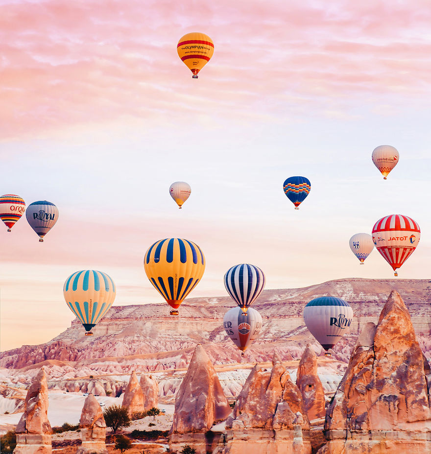10 Incredible Photos Of Cappadocia Turkey 4 When Reality Looks Better Than Photoshop: 10+ Incredible Photos Of Cappadocia, Turkey