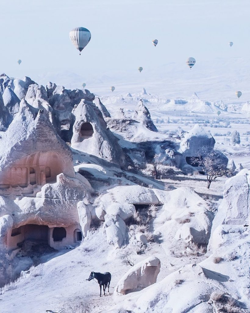 10 Incredible Photos Of Cappadocia Turkey 5 820x1024 When Reality Looks Better Than Photoshop: 10+ Incredible Photos Of Cappadocia, Turkey