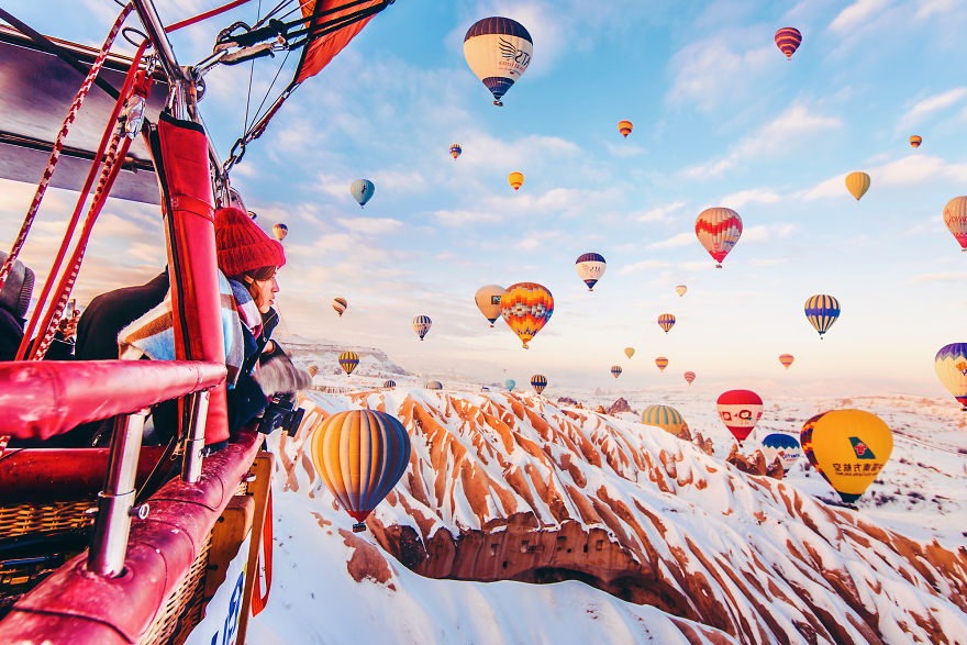 10 Incredible Photos Of Cappadocia Turkey 6 When Reality Looks Better Than Photoshop: 10+ Incredible Photos Of Cappadocia, Turkey