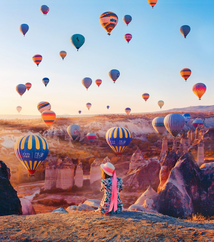 10 Incredible Photos Of Cappadocia Turkey 7 When Reality Looks Better Than Photoshop: 10+ Incredible Photos Of Cappadocia, Turkey
