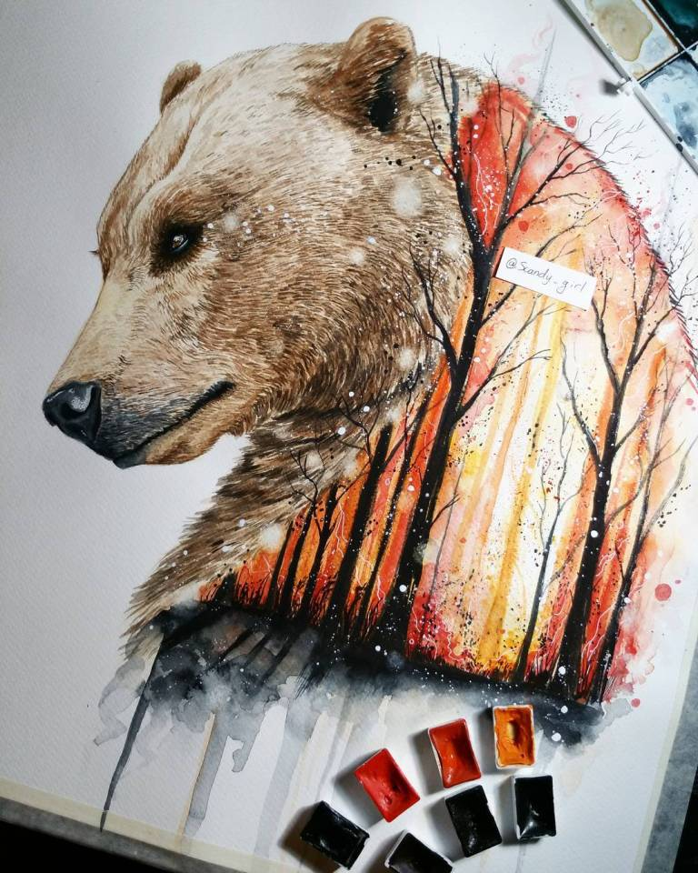 Beautiful Animals Painting Remind Us To Preserve Nature 9 Astounding Animals Painting Remind Us To Preserve Nature