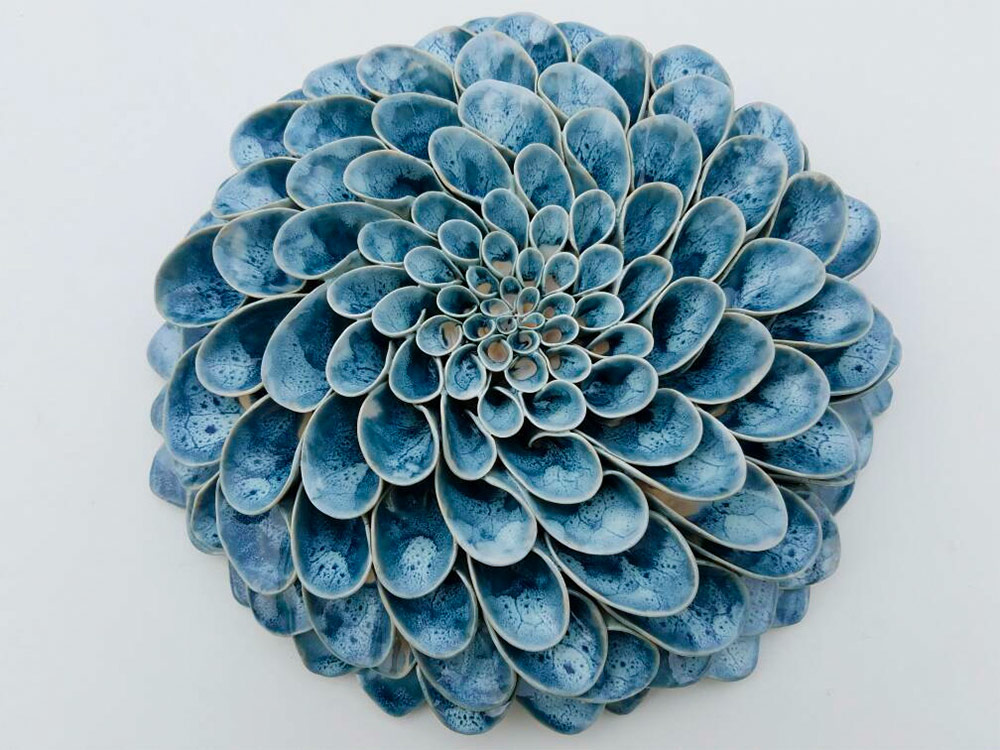 Beautiful Handmade Ceramic Blooms and Succulents by Owen Mann 99 Beautiful Handmade Ceramic Blooms and Succulents by Owen Mann