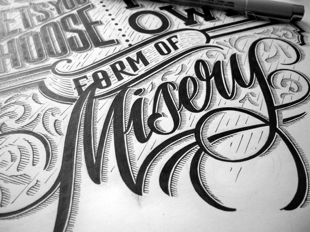 Beauty Hand Lettering by Mateusz Witczak 1024x768 Wonderful Hand Lettering by Mateusz Witczak