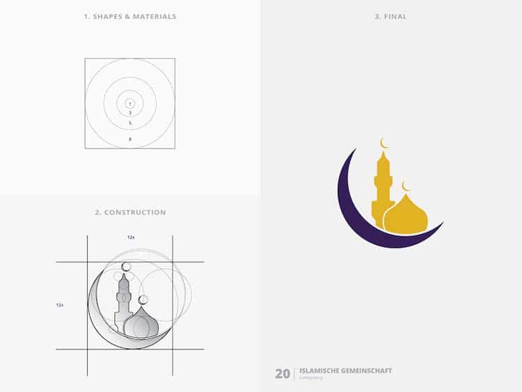 Brilliant Logo Design With Golden Ratio 88 Creative Logo Design With Golden Ratio by Kazi Mohammed Erfan