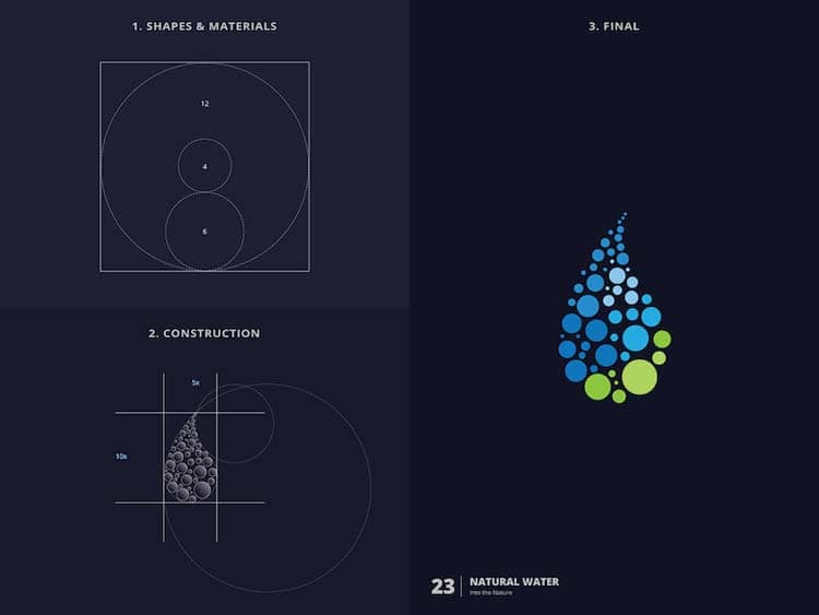 Brilliant Logo Design With Golden Ratio Creative Logo Design With Golden Ratio by Kazi Mohammed Erfan