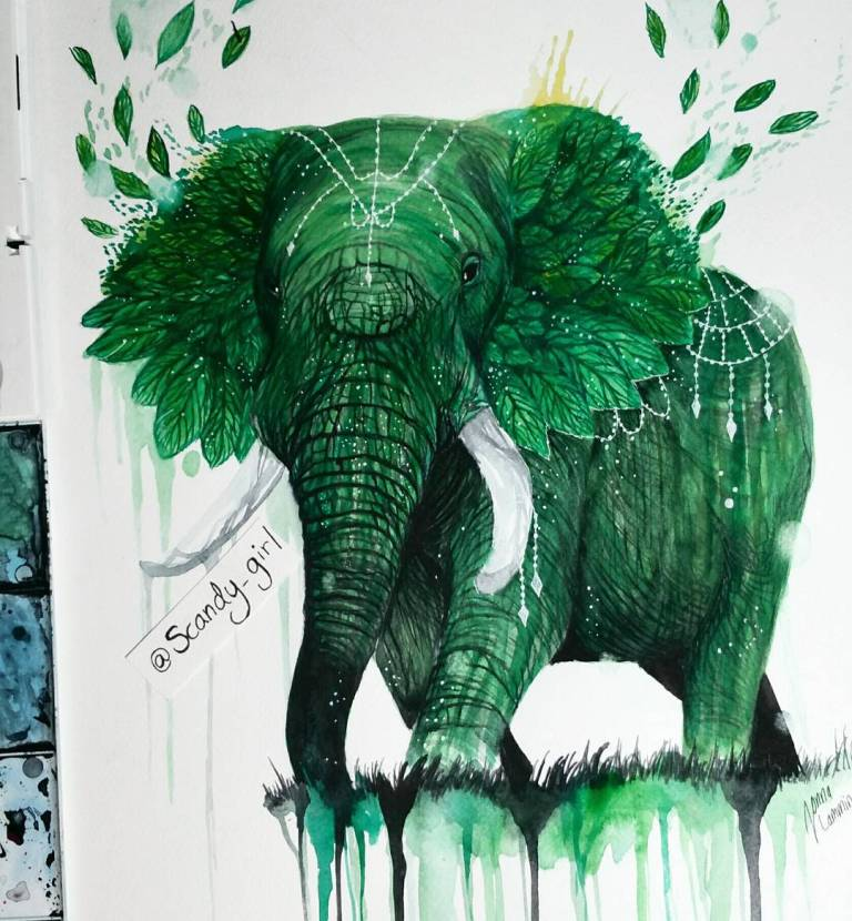 Creative Animals Painting Remind Us To Preserve Nature 8 Astounding Animals Painting Remind Us To Preserve Nature