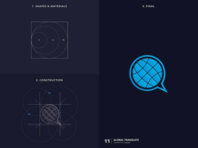 Creative Logo Design With Golden Ratio 2 Creative Logo Design With Golden Ratio by Kazi Mohammed Erfan