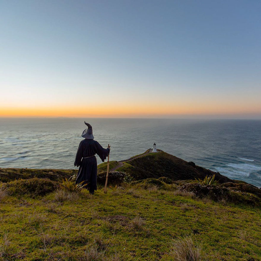 Epic Gandalf Lord Photos Travels Across New Zealand 6 Epic Gandalf Lord Photos , He Traveled Across New Zealand