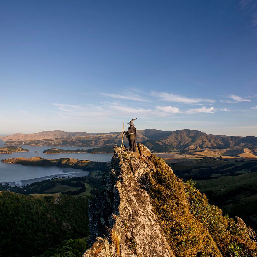 Epic Gandalf Photos Travels Across New Zealand Epic Gandalf Lord Photos , He Traveled Across New Zealand
