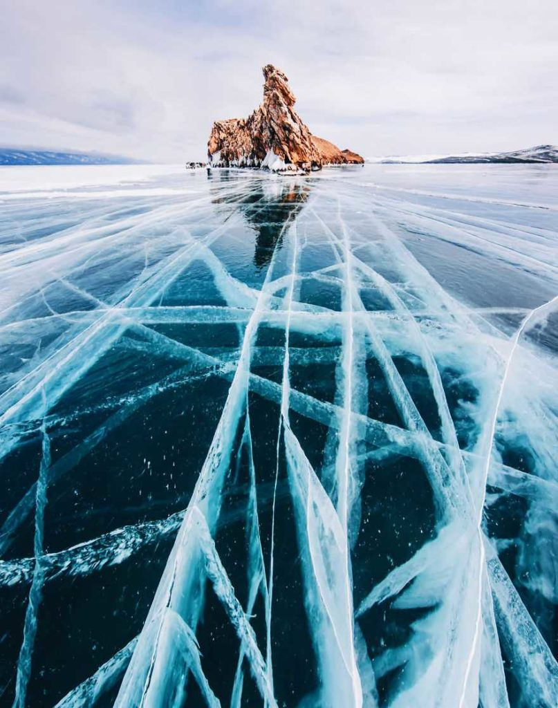 Frozen Lakes The World's Oldest and Deepest Lake by Kristina Makeeva 807x1024 Frozen Lakes : The World's Oldest and Deepest Lake by Kristina Makeeva
