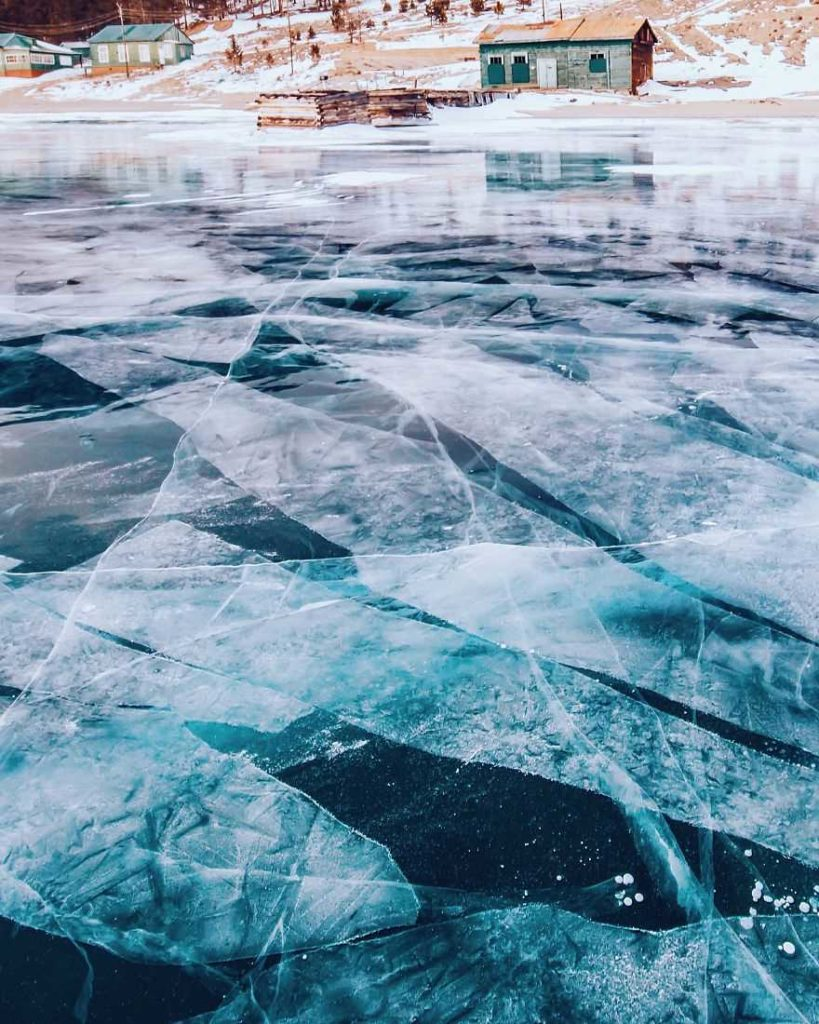 Frozen Lakes The World's Oldest and Deepest Lake by Kristina Makeeva 99 819x1024 Frozen Lakes : The World's Oldest and Deepest Lake by Kristina Makeeva