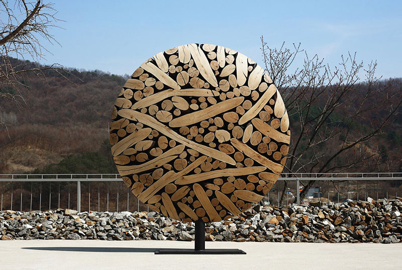 Functional Wood Sculptures by Jaehyo Lee Creative Artwork : Functional Wood Sculptures by Jaehyo Lee