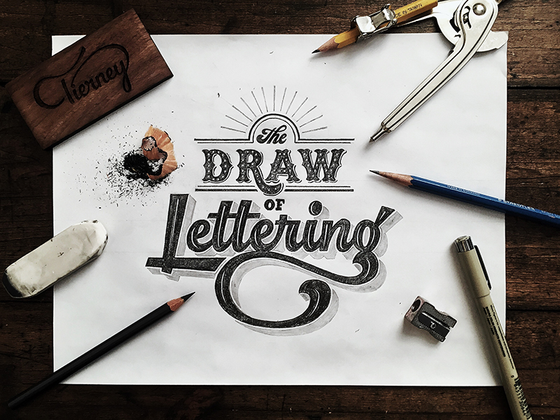 Hand Lettering Inspiration by Colin Tierney | 99inspiration