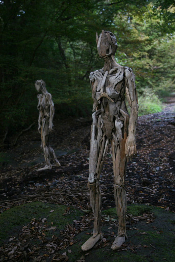 Haunting Driftwood Sculptures By Japanese Artist Nagato Iwasaki 1 683x1024 Haunting Driftwood Sculptures By Japanese Artist Nagato Iwasaki