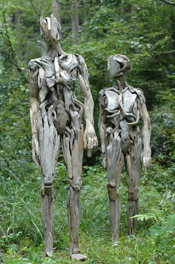 Haunting Driftwood Sculptures By Japanese Artist Nagato Iwasaki 99 681x1024 Haunting Driftwood Sculptures By Japanese Artist Nagato Iwasaki