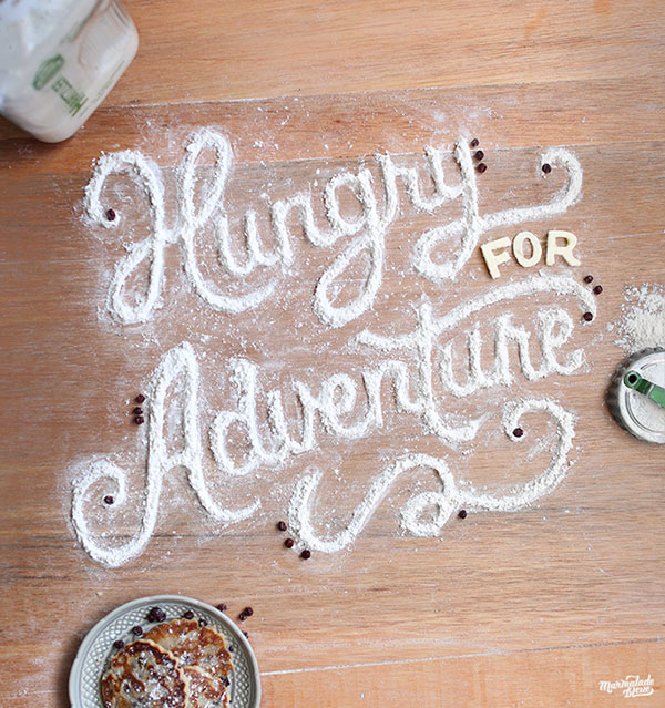 Mind Blowing Examples of Food Typography by Marmalade Bleue 99 Mind Blowing Examples of Food Typography by Marmalade Bleue