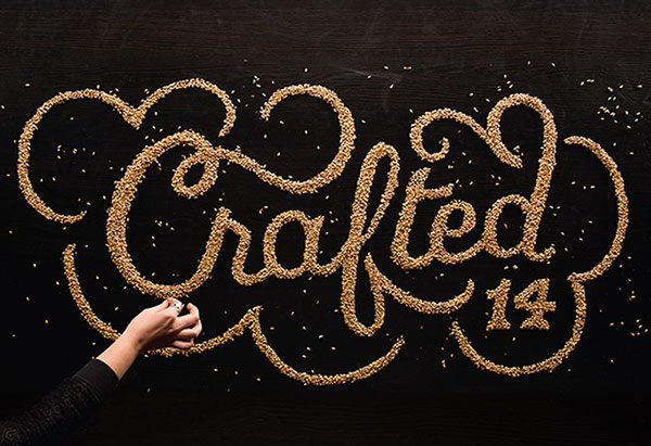 Mind Blowing Examples of Food Typography Mind Blowing Examples of Food Typography by Marmalade Bleue