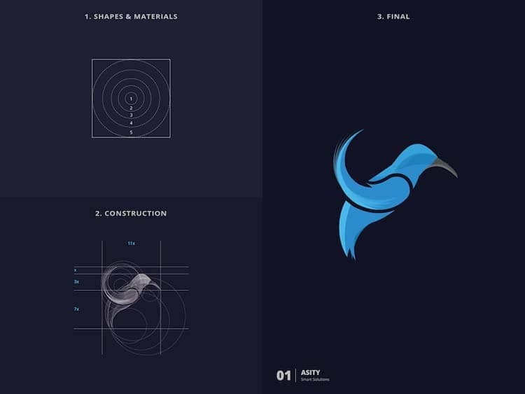 Simple Logo Design With Golden Ratio 77 Creative Logo Design With Golden Ratio by Kazi Mohammed Erfan
