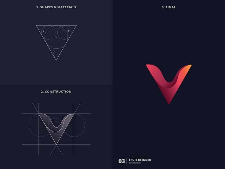 Simple Logo Design With Golden Ratio 99 Creative Logo Design With Golden Ratio by Kazi Mohammed Erfan