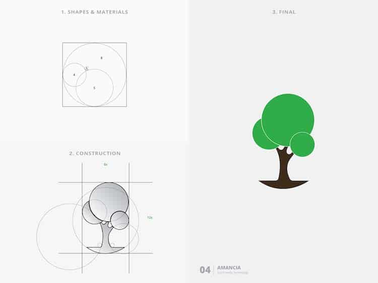 Simple Logo Design With Golden Ratio Creative Logo Design With Golden Ratio by Kazi Mohammed Erfan