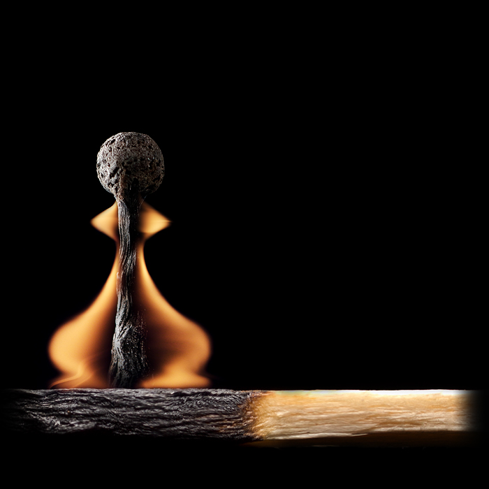 Stunning Burnt Matchstick Art by Stanislav Aristov Creative Burnt Matchstick Art by Stanislav Aristov