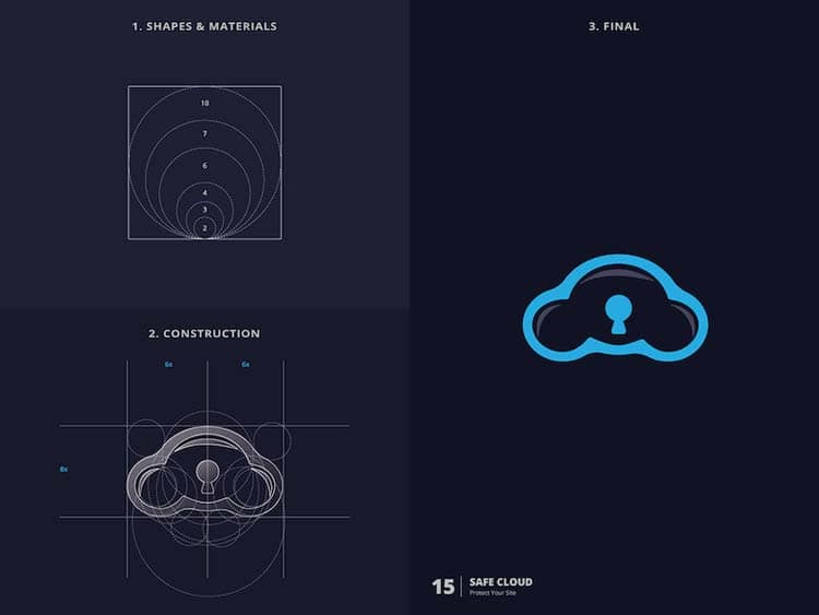 Stunning Logo Design With Golden Ratio 77 Creative Logo Design With Golden Ratio by Kazi Mohammed Erfan