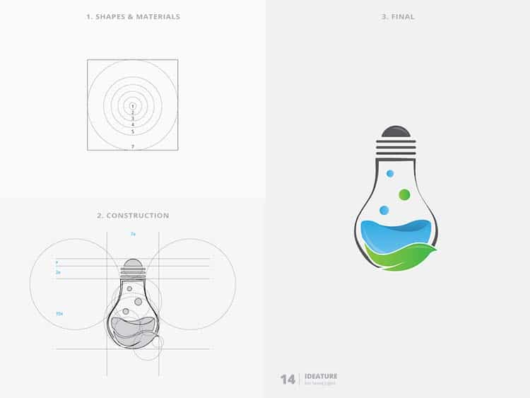 Stunning Logo Design With Golden Ratio 88 Creative Logo Design With Golden Ratio by Kazi Mohammed Erfan