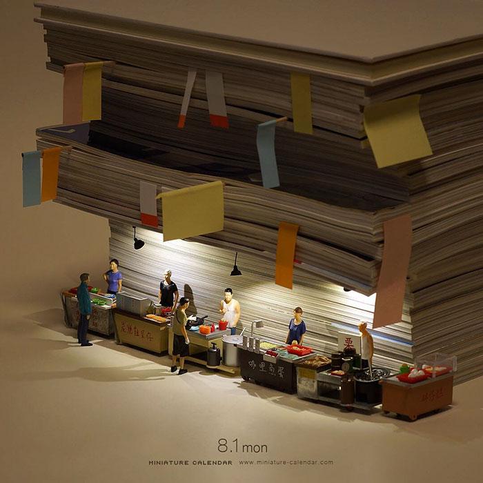 Stunning Miniature Photography Examples 20+ Creative Miniature Creations By Japanese Artist Tatsuya Tanaka
