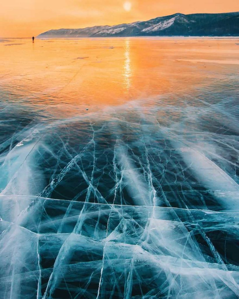 The bigest Frozen Lake by Kristina Makeeva 819x1024 Frozen Lakes : The World's Oldest and Deepest Lake by Kristina Makeeva