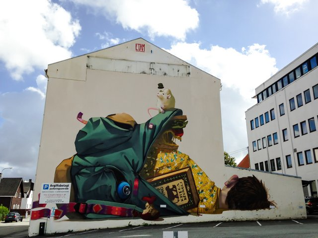 Top 10 Creative Street Art Examples 7 Top 10 Creative Street Art in Stavanger (Norway)