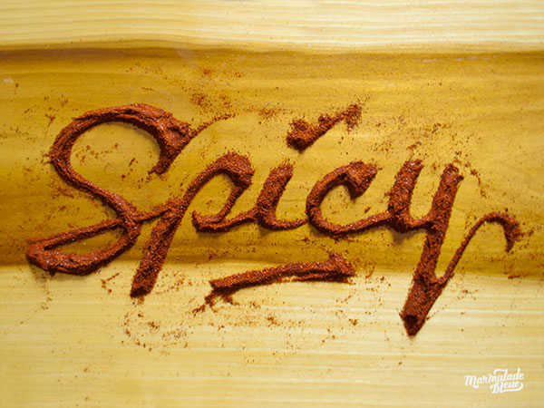 Unique Food Typography Ideas Mind Blowing Examples of Food Typography by Marmalade Bleue