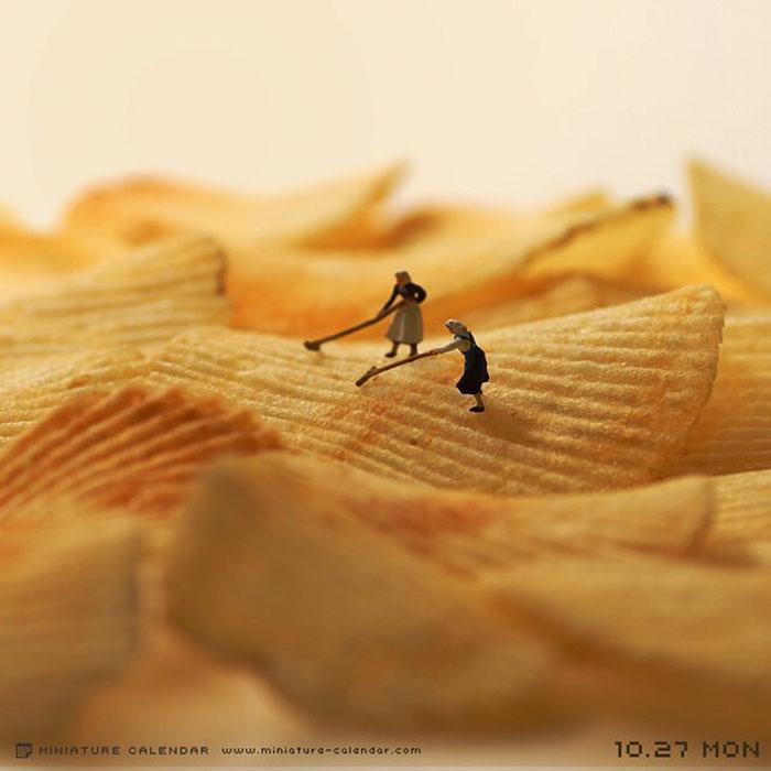 Unique Miniature Photography By Japanese Tatsuya Tanaka 20+ Creative Miniature Creations By Japanese Artist Tatsuya Tanaka