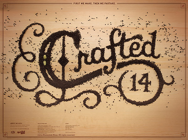 Wonderful Examples of Food Typography Mind Blowing Examples of Food Typography by Marmalade Bleue