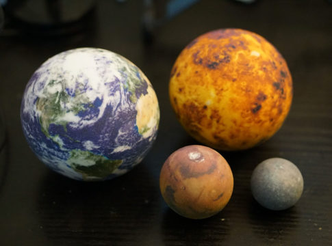 Creative 3D Printed of Planets 485x360 Home V.2