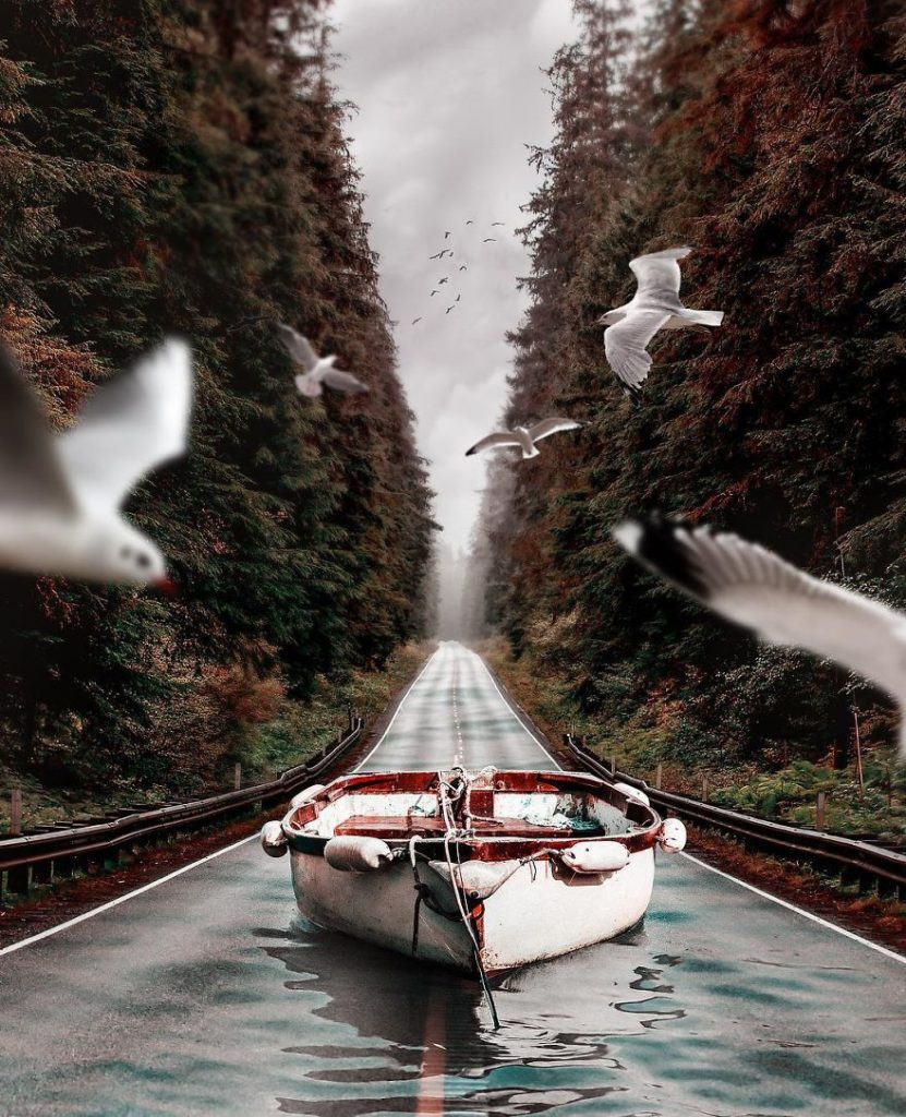 Dreamlike Alternate Worlds Using Photo Manipulation 6 831x1024 Digital Photo Collages of Dreamlike Scenes by Hüseyin Sahin