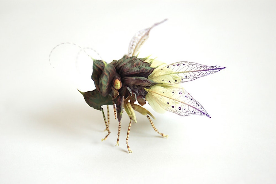 Fantastic Sculptures of Imaginative Insects by Hiroshi Shinno 10 Fantastic Sculptures of Imaginative Insects by Hiroshi Shinno